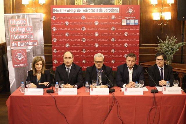 Conferencia sobre privacidad y nuevas tecnologías en el Icab