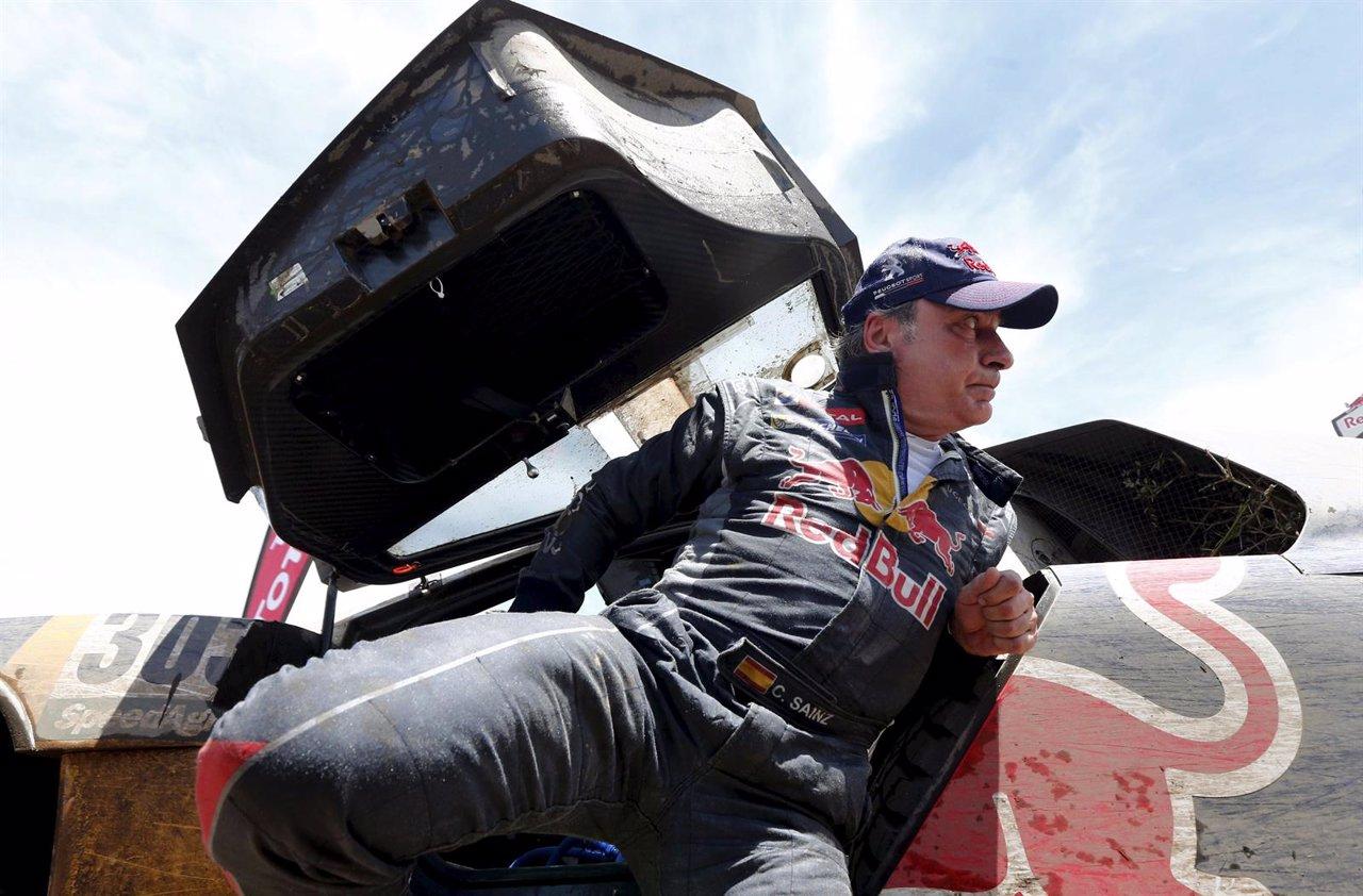 Carlos Sainz en el Dakar 2016