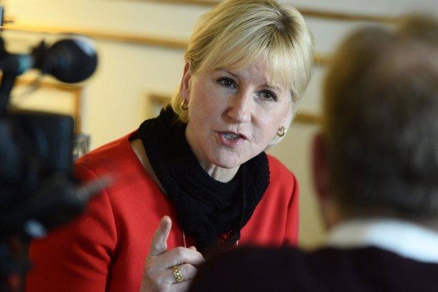 Margot Wallstrom, ministra de Asuntos Exteriores de Suecia