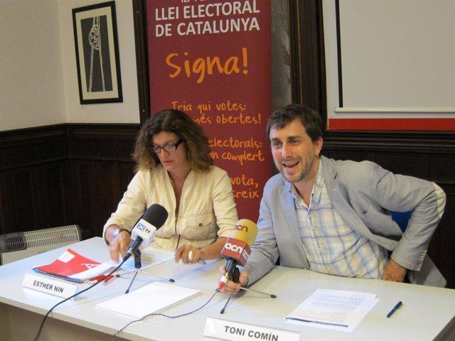 Antoni Comín, Ciutadans Pel Canvi (Cpc)