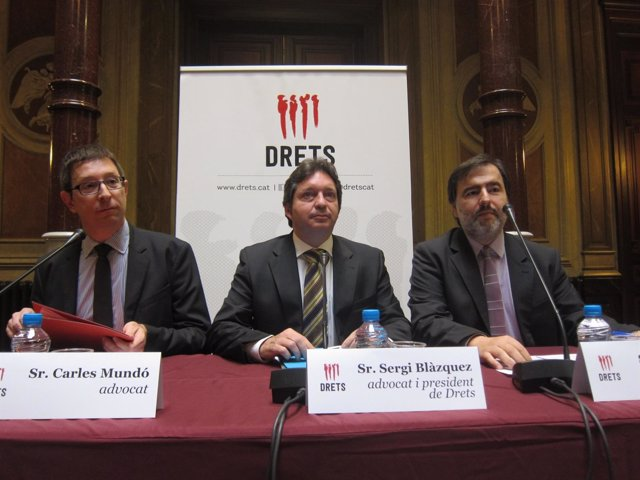 Carles Mundó, Sergi Blàzquez, Marc Marsal (Drets)
