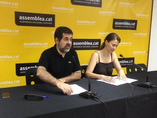 Jordi Sànchez, Meritxell Serret (ANC)