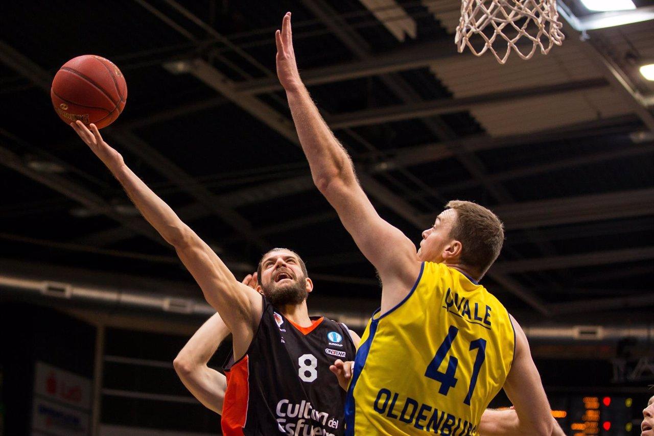 Valencia Basket ante el EEW Baskets