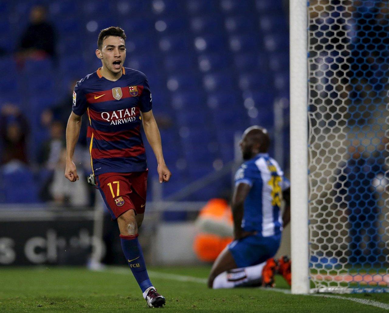 Munir resuelve el derbi ante el Espanyol