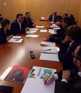 El PSOE Se Reúne Con UGT Y CC.OO.