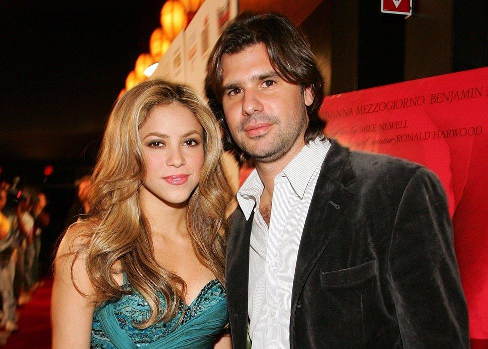 Shakira y Antonio de la Rúa/Getty