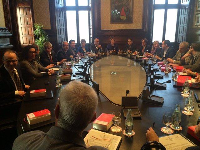 Junta de Portavoces del Parlament