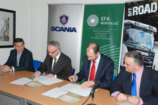 Acuerdo de formación profesional dual de Scania