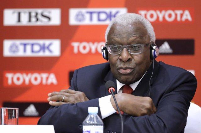 El ex presidente de la IAAF Lamine Diack