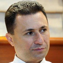 Nikola Gruevski primer ministro de Macedonia