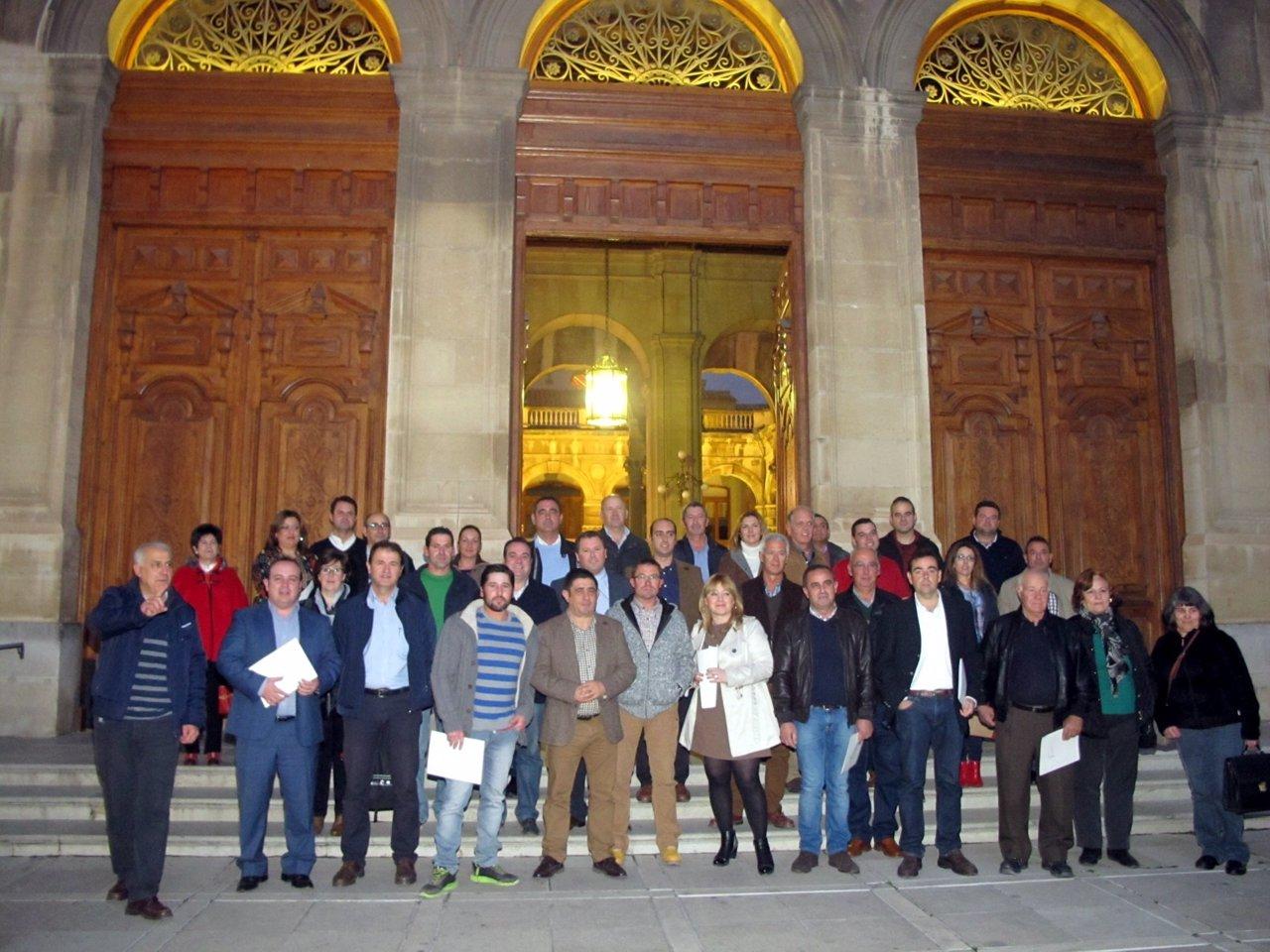 Entrega de las resoluciones de las ayudas de la Diputación de Jaén