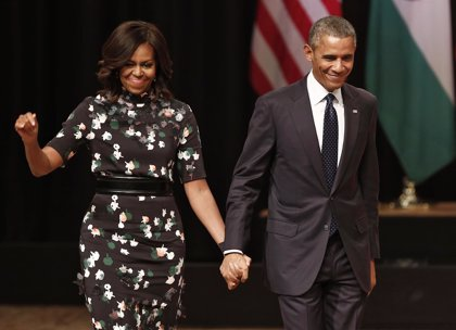 Obama niega que su esposa vaya a ser candidata a la Presidencia de EEUU en un futuro
