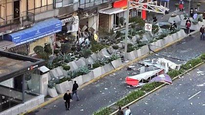 Al menos ocho heridos por una explosión de gas en Félix Cuevas (México DF)