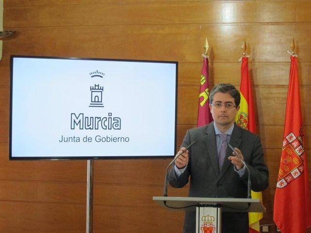 El concejal Jesús Pacheco