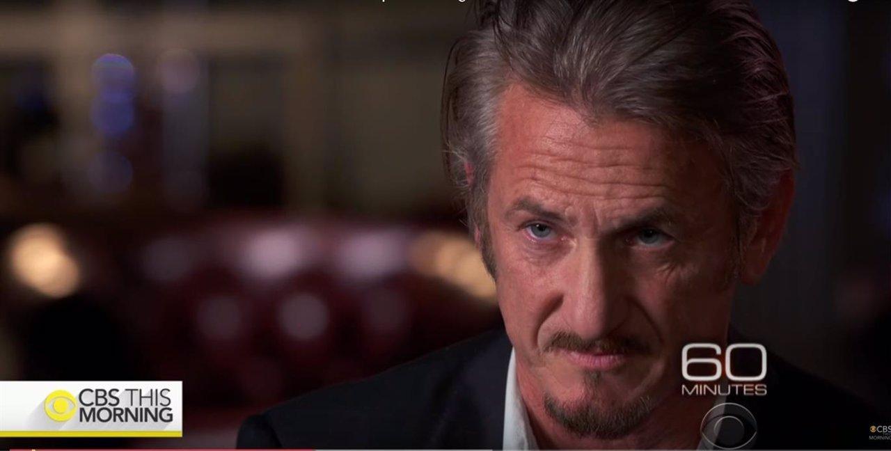 El actor estadounidense Sean Penn
