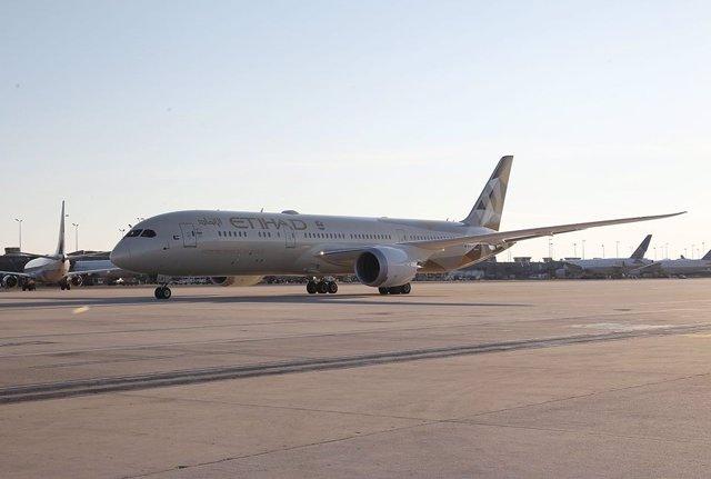 Avión de Etihad