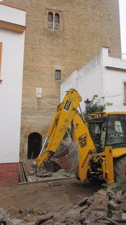 Obras en La Algaba