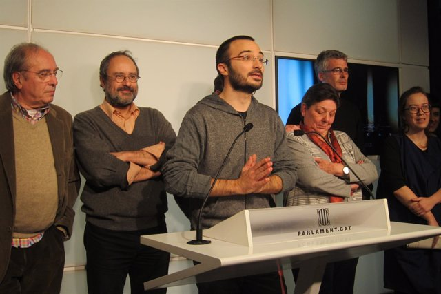 Julià de Jòdar, Antonio Baños, Benet Salellas, Gabriela Serra, Eulàlia Reguant