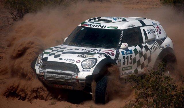 Mikko Hirvonen en el Dakar 2016