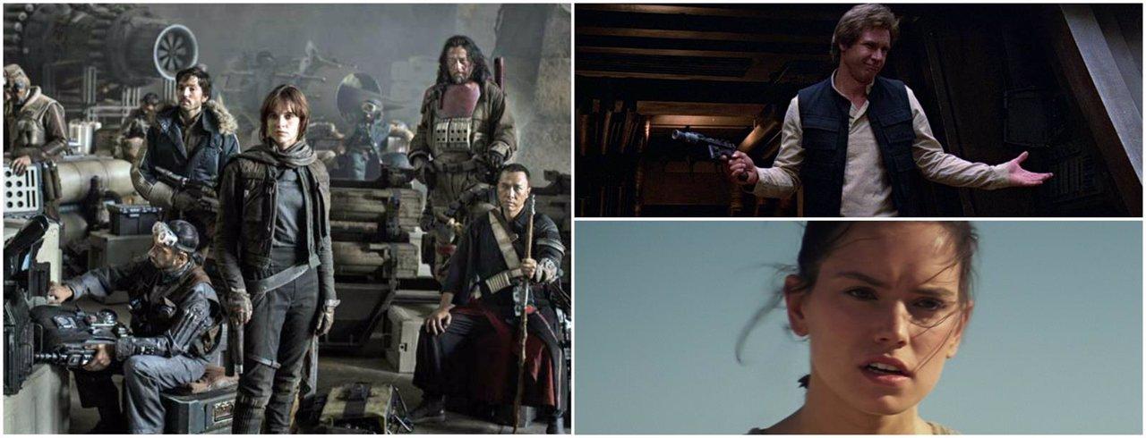 Rogue One, Spin-off de Han Solo, rey en Star Wars