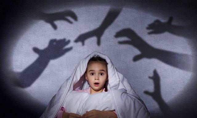 Miedo a la oscuridad, terrores nocturnos