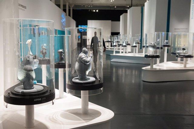 Exposición sobre Pixar en CaixaForum Barcelona