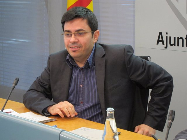 El primer teniente de alcalde, Gerardo Pisarello