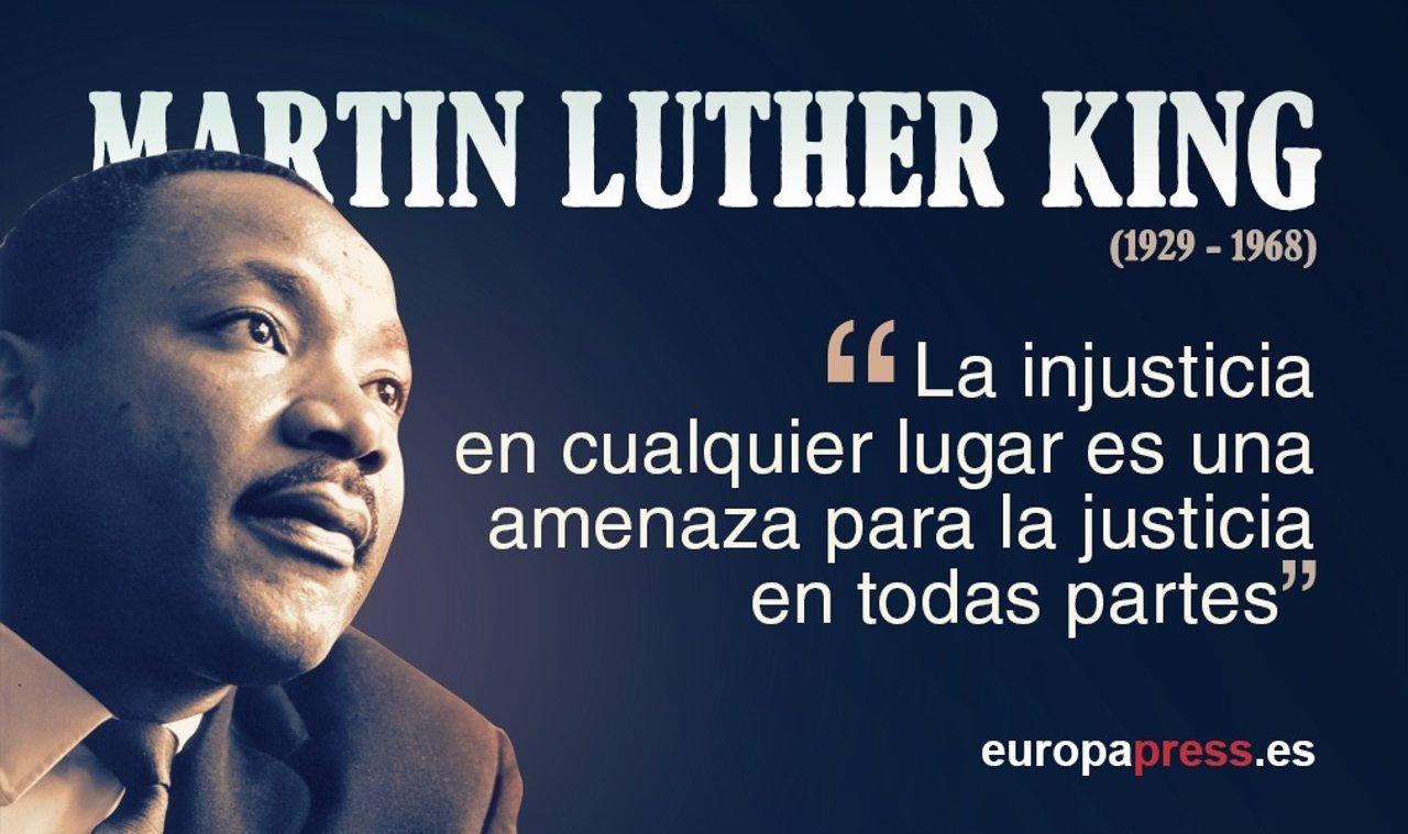 Martin Luther King: las 10 mejores frases de su historia