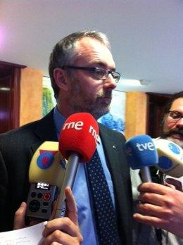 El diputado del PP, Domingo Segado