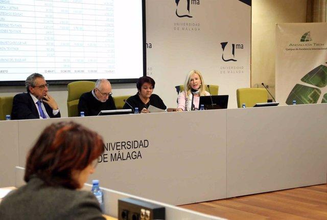 Reunión del Consejo Social de la UMA