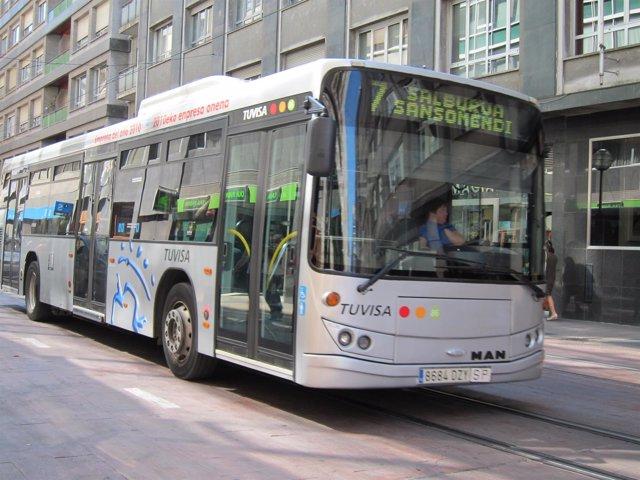 Un autobus de vitoria