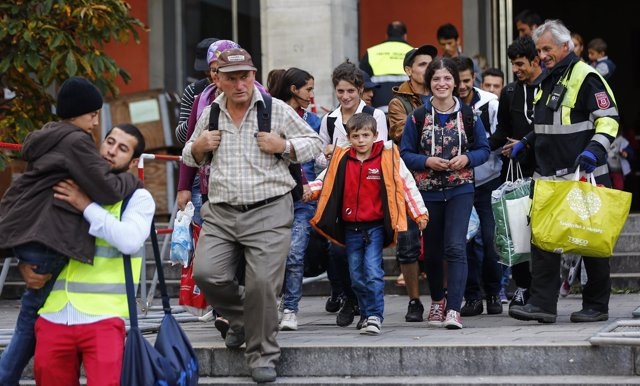 Refugiados en Munich