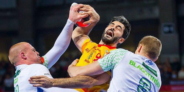 Raúl Entrerríos selección española balonmano Eslovenia Europeo Polonia