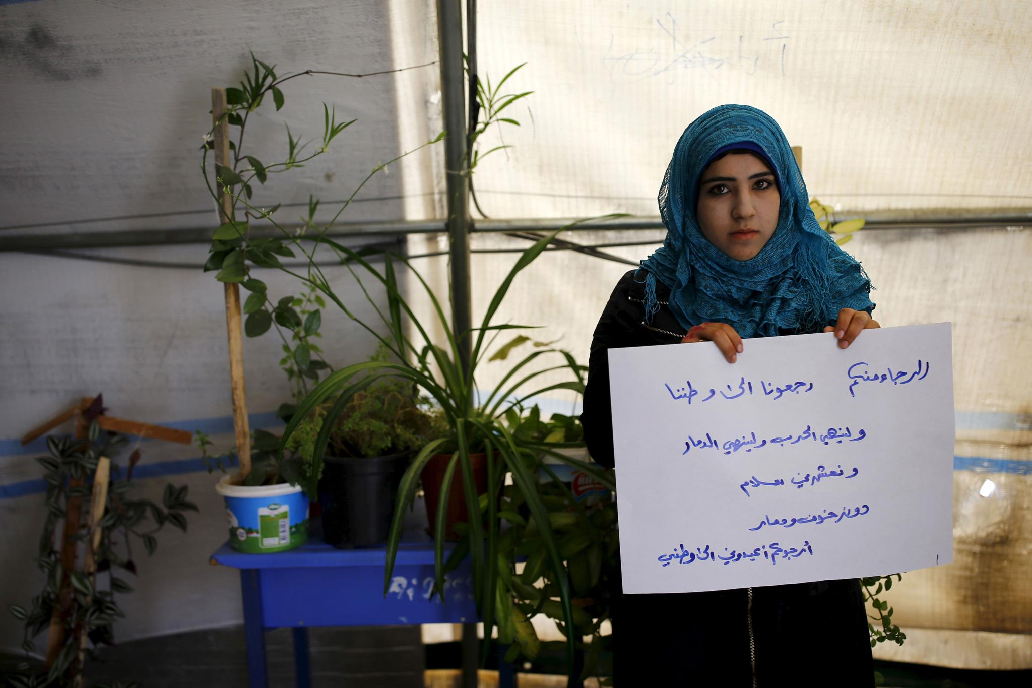 En Imágenes Niños Refugiados Sirios Sueñan Con Su Hogar