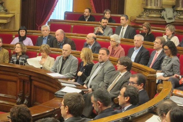 El Govern en el Parlament