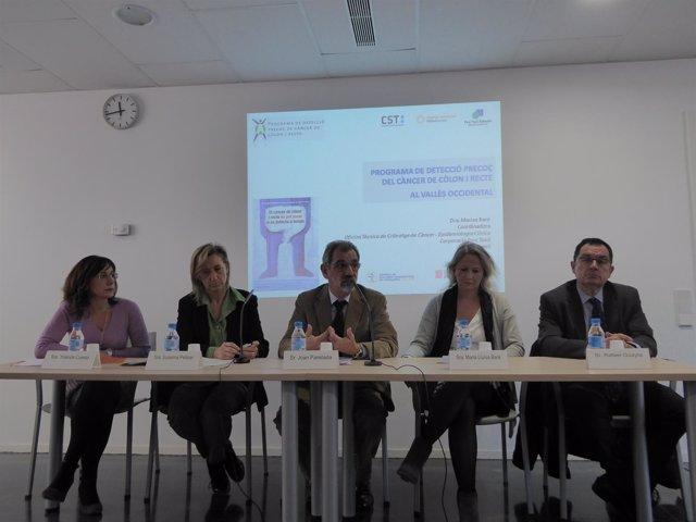 Presentación del programa de detección precoz del cáncer de colon en Sant Cugat
