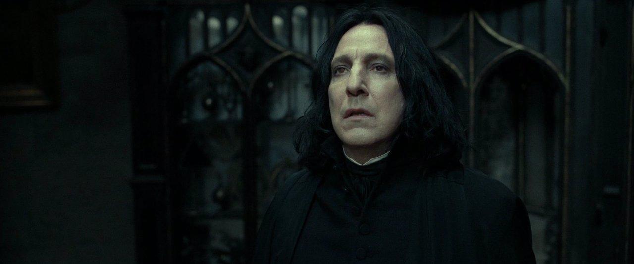 Alan Rickman como Severus Snape en Harry Potter