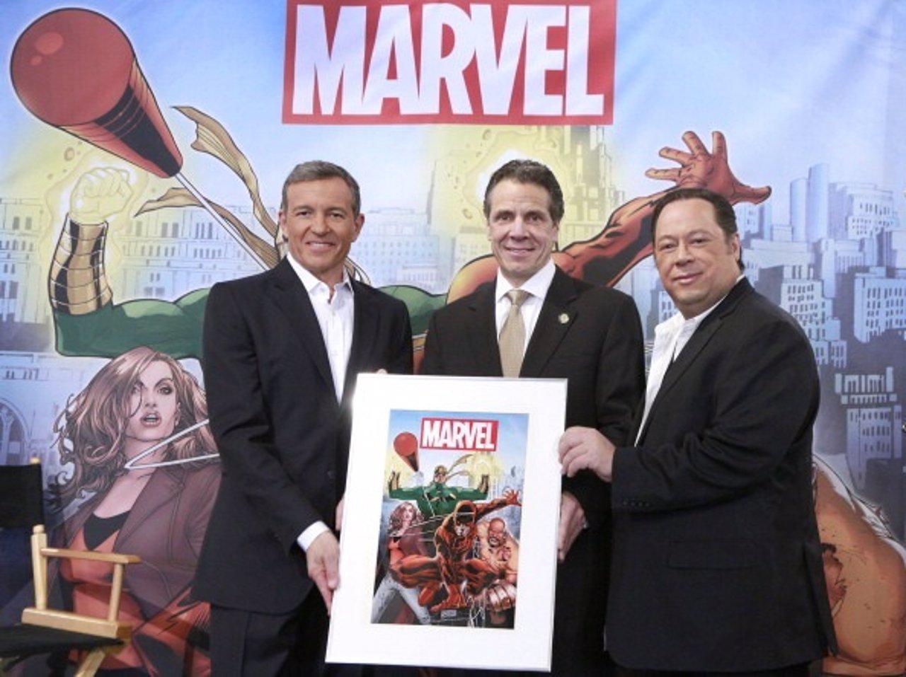 Unión de Marvel y Netflix