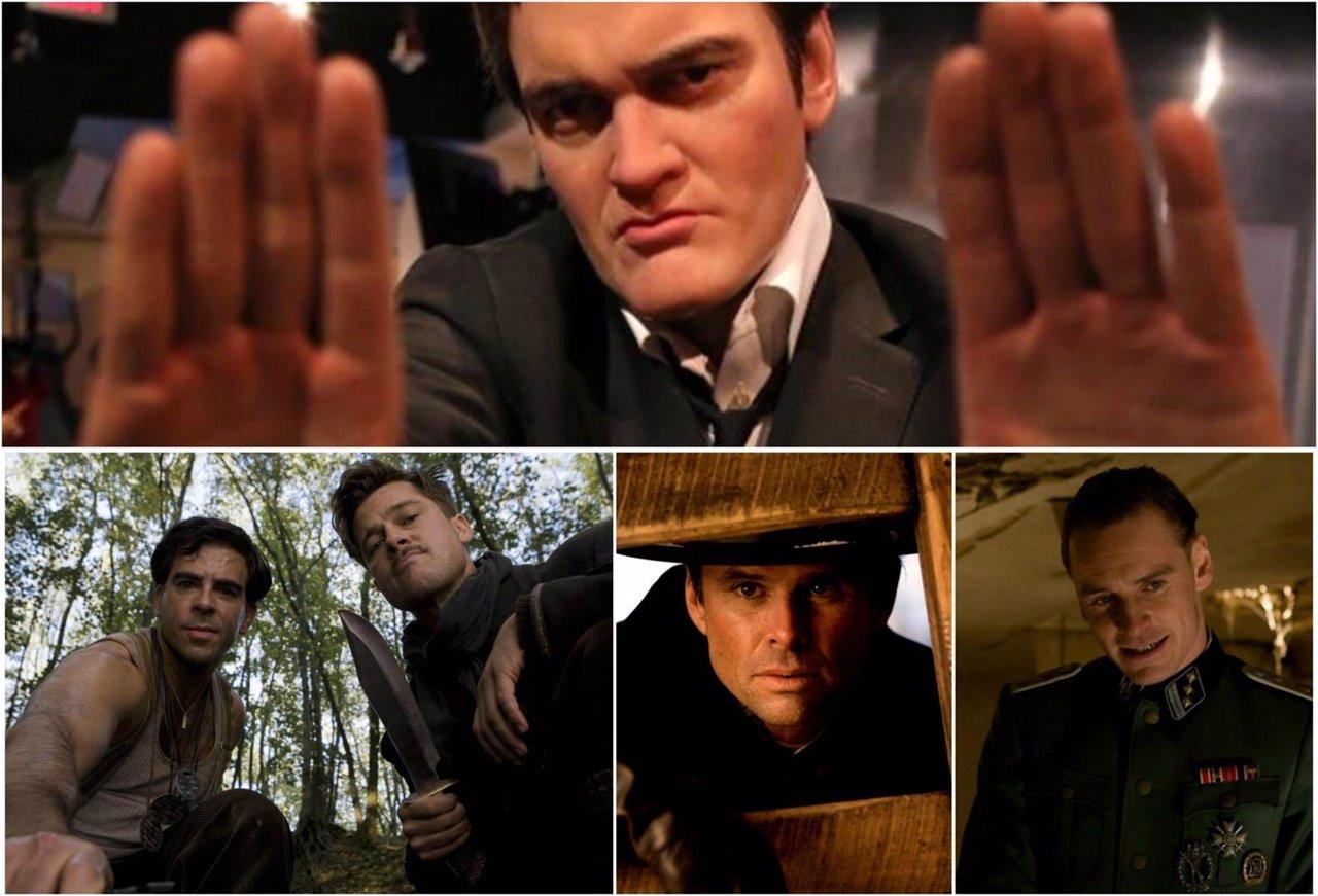 Collage Tarantino y sus peliculas