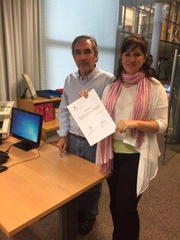 Diputados de Podemos registran la PNL en apoyo a los 8 de Airbus