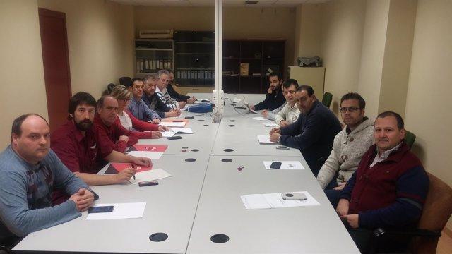 Comité de Empresa de Altadis encerrado en la empresa