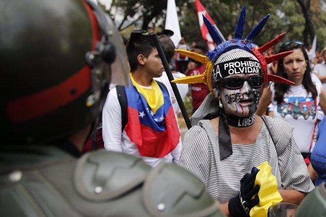 Protestas en San Cristóbal (Venezuela)