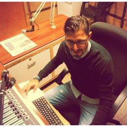El comunicador salvadoreño Rafael Orellana