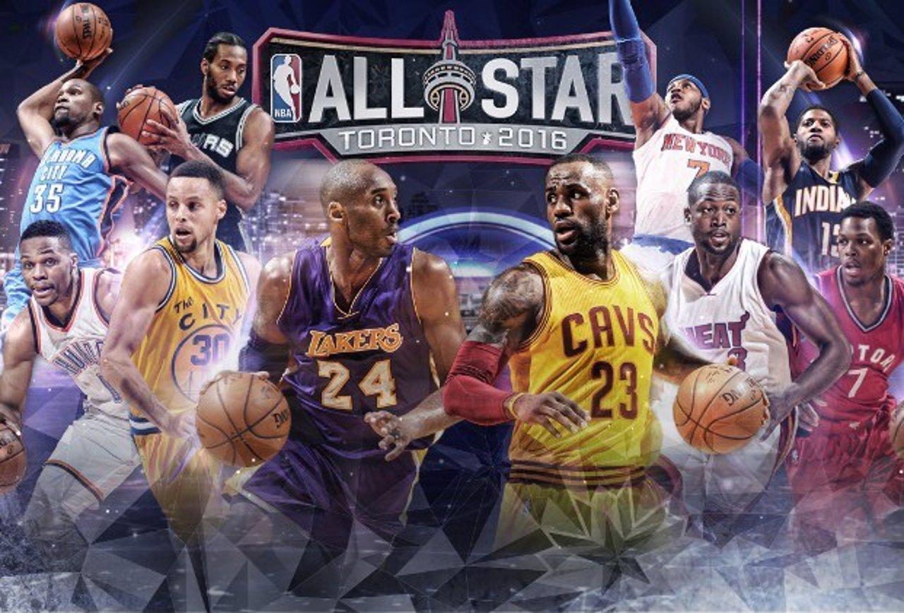 Alineación del All Star 2016 de la NBA