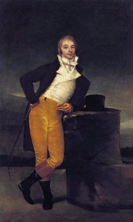 Retrato del marqués de San Adrián, de Francisco de Goya