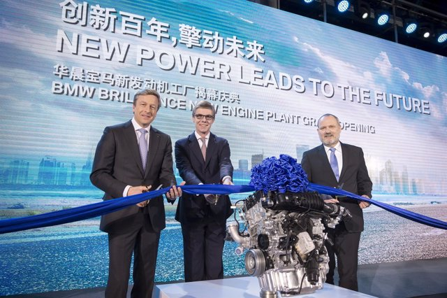Apertura de nueva planta de BMW Brilliance en China