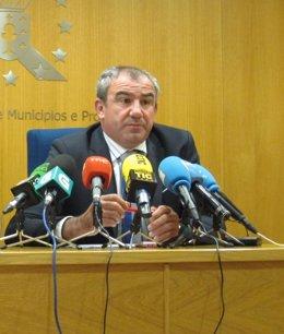 Presidente de la Diputación de Lugo y alcalde A Pontenova, Darío Campos (PSOE)