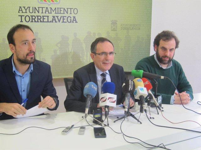 Javier López Estrada, José Manuel Cruz Viadero y José Otto Oyarbide