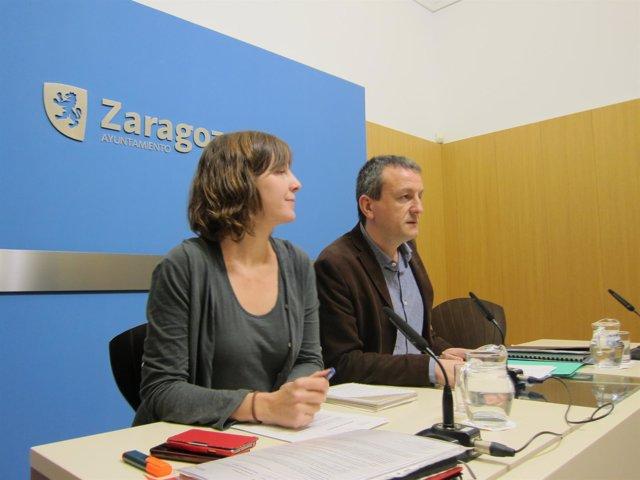 Teresa Artigas y Fernando Rivarés