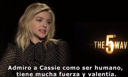 """Chloë Grace Moretz (La Quinta Ola): """"Admiro a mi personaje por su fuerza y valentía"""""""